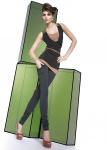 Fashion Leggings Leggins Hose lang Stretch Elastisch weich 200den BONI