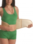 Korsett Rücken Bandage Bauch Gurt Wärme Schafswolle Wolle Nierenwärmer 3051