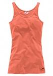 Maui Wowie Damen Tanktop Top Tank Longtop Shirt ärmellos Apricot 613622