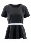 Maite Kelly T-Shirt Halbarm kurze Ärmel Rundhals Tunika Kleid Bluse 908868