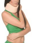 Hals-Wirbel-Bandage Hals-Krause Fixierung Klettverschluss Nacken-Stütze 1001