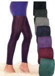 Strick-Leggings warm Leggins 200den weich wie fleece