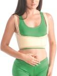 Damen Bandage Fixierung Brustkorb Brust Rücken Stütze Klettverschluss Gurt 4302