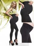 Fashion Umstandshose Schwangerschafts Hose lang warm Fleece Stretch Melanie