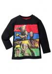 Kinder Langarmshirt T-Shirt Langarm Star Wars Print Comic schwarz 925362