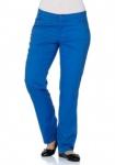 Damen Sheego Chinohose Hose Chino Stretch blau Gr. 40 42 160738