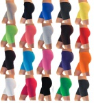 Damen Shorts Sport Hotpants Sportshorts kurze Leggings Baumwolle S-XXXL