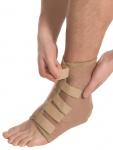 Elastische Bandage Sprunggelenk Fuß Strumpf Kompression Aeropren Polster 7021