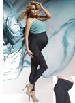 Fashion Umstandshose Hose Umstand Leggings Denim Indigo Jeans Stretch Nadia