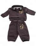 Baby warme Anzug (2-tlg.) Fleece Pullover Hose lang Kinder BFL