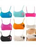Girl Mädchen Kinder Sport BH Comfort Bustier Unterwäsche Top 2302