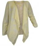 Heine Damen Shirtjacke Ausbrenner-Jacke Shirt Gr. 36/38 gelb 118108
