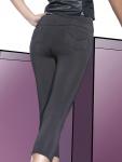 Fashion Capri Leggings Hose kurz Leggins Taschen stretch elastisch Sandra-Short