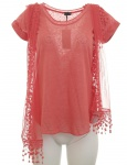 Laura Scott Shirt mit Schal 2-Teilig Tunika Bluse Top T-Shirt Hemd 611319