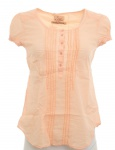 LTB Bluse Tunika Longbluse Hemd Shirt Top T-Shirt Orange Baumwolle 872633