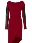 Rainbow Damen Shirtkleid Kleid Langarm Mini Dress Minikleid rot Gr. 32/34 972941