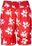 Rainbow Damen Bermuda Shorts kurze Hose Blumen-Muster rot 912931