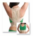 Körperhaltungs-Korrektor elatische Gurte Stütz-Rippen Rücken-Halter 2011