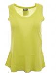 Chillytime Volant Long Top Doppelpack Tank Shirt Bluse Tunika T-Shirt 673019