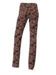 Heine Damen Druckhose Hose Animal-Print Chino Stretch braun 005954