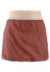 Damen Buffalo Top Crochet Trim Strandtop Shirt Tunika Bluse Braun Sand 384259
