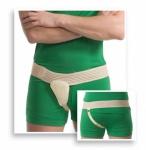 Bruchbandage doppelseitig Bruch Bandage Leiste Hernie Gurt Stützung Bauch 5001