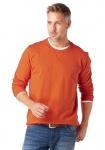 Grey Connection Herren Sweatshirt Pullover Shirt Pulli Langarm orange 670148