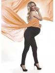 Fashion Umstandshose Schwanger Hose Röhre lang warm Fleece stretch Stefanie