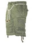 Herren Jeans kurze Hose lange Cargo Shorts Bermuda Caprihose mit Gürtel 8835