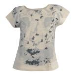 Chillytime Shirt Nieten Tiger Tigerprint Tunika Bluse Top T-Shirt Beige 461752