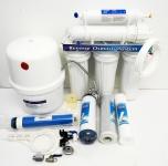 5 Stufen System UMKEHROSMOSE ANLAGE WASSERFILTER Osmose Filter Drehwasserhahn