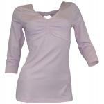 B.C. Damen V-Shirt Bluse Tunika 3/4 Arm
