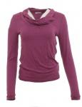 Tamaris Rollkragen Shirt Fuchsia Langarm T-Shirt Tunika Bluse Pullover 891957