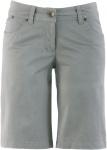 BPC Damen Bermuda Shorts kurze Hose Stretch neutralgrau Gr. 34 952993