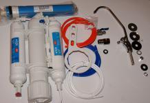3 Stufen UMKEHR-OSMOSE ANLAGE Wasserhahn mobiler WASSERFILTER Membrane aquarium