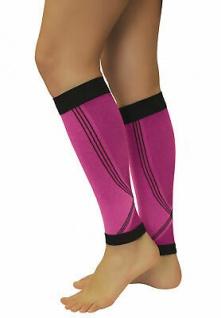 Elastische Sport Kompressions Stulpen Sleeves Strümpfe Beine Laufen 0408-01 - Vorschau 5