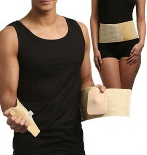 Bandage Gurt Stützung Bauch Bruch Vermeidung Hernie Stoma 20-0511-01 - Vorschau 3