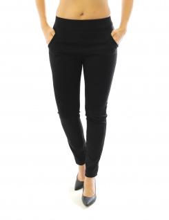 Hose Stretch Stretchhose Elegante Stoffhose Schlupfhose Taschen Damen Röre - Vorschau 5