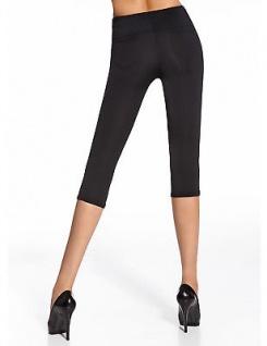 Capri Leggings Leggins 3/4 kurz Hose Stretch mit Taschen 200den Marika Short - Vorschau 5