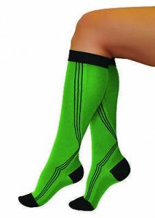 Elastische Sport Activ Kompressions Strümpfe Socken Kniestrümpfe 0401 - Vorschau 4