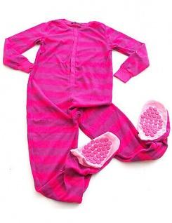 Kinder Schlafanzug warm Animation Jumpsuit Overall Tiere Nachtwäsche Store-21-F - Vorschau 5