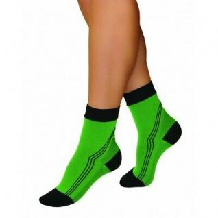 Elastische Sport Activ Kompressions Kurzstrümpfe Strümpfe Socken kurz 0406 - Vorschau 5