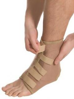 Elastische Bandage Sprunggelenk Fuß Strumpf Kompression Aeropren Polster 7021 - Vorschau 3