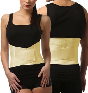 Rücken-Bandage Rücken-Stütze Schienen Klettverschluss Lendenwirbelsäule 0012 - Vorschau 5