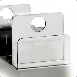 Hochwertiger Acryl-Glas Zeitungsständer, Zeitschriftenständer, 33 x 16 cm, H ...