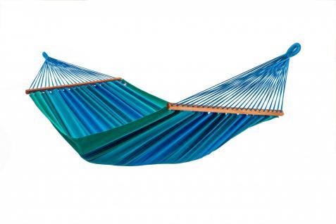 Stabhängematte XL, Bio Baumwolle, Liegefläche 220 x 170 cm, 180 kg Tragfähigk...
