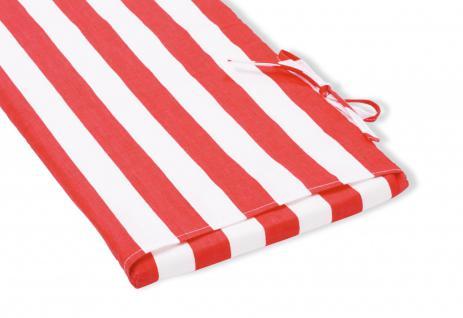 Pinolino Polsterauflage für Artikel 201016, rot / weiß, aus 100% Baumwolle, B...