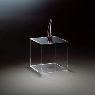 Hochwertiger Acryl-Glas Würfel, klar, Acryl-Glas-Stärke 8 mm