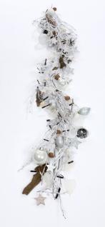 """Zauberhafte Weihnachtsgirlande """" Väterchen Frost"""", ca. 170 cm lang, Handwerksa..."""