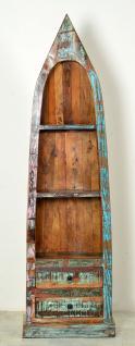 """Regal / Bootsregal, """" Vintage Look"""", Altholz, bunt, B55 x T35 x H190 cm"""
